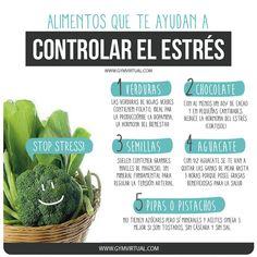 Alimentos para controlar el estrés