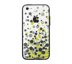 Decorate your pretty new iPhone 5c with this Polka-Dot Polycarbonate Case
