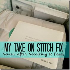 My Take On Stitch Fix After 10 Boxes - Review & Giveaway by TagsThoughts.com; Giveaway ends 04.03.15.