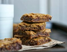 Butterscotch Chocolate Chip Brownies - 365 Days of Baking
