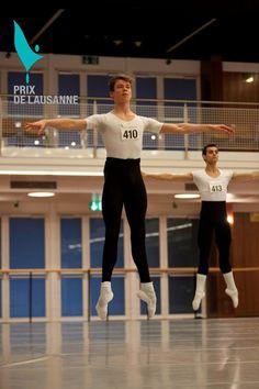 Male class - © Prix de Lausanne 2011