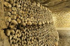 The Catacombs, Paris | The 19 Most Unnerving Spots On Earth. The Parisian Catacombs function as a gigantic ossuary and cemetery for approximately 6 million bodies. Beyond just bones, there is also the non-tourist section of the Catacombs, where a mostly illegal and unpoliced second city extends for miles beneath Paris.