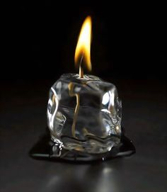 Ice Cube Candle