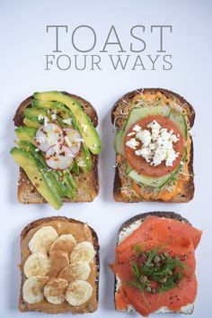 Toast: Four Ways - Cupcakes and Cashmere