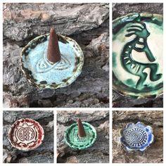 kleine Schalen für Räucherkegel aus Keramik...von KreativesbyPetra  #Keramik #ceramik #ton #töpfern #töpferei #DIY #handmade #handgefertigt #Handwerk #kunstwerk #Unikat #geschenk #present #pottery #schale #räucherschale #räucherkegel #Glasur #glaze #glasurbrand #Esoterik #spirituell #Spiritualität #duft #düfte #botz #plattentechnik #Seestern #seastar #smoke #holysmokers #tray Decor, Mandalas, Celtic Knots, Mosaics, Artworks, Handmade, Handarbeit, Creative, Gifts