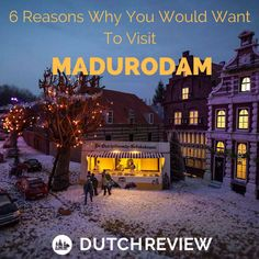 See the whole and the best of the Netherlands in one swoop when you visit Madurodam. Check our review of this magical themepark in The Hague!