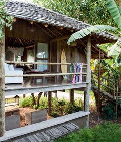 Una Cabaña en Plena Naturaleza. Cabaña en Brasil