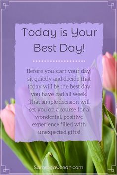 Today is your best day Positive Affirmations Quotes, Morning Affirmations, Affirmation Quotes, Positive Quotes, Morning Inspiration, Positive Inspiration, Peace Quotes, Spiritual Quotes, Good Morning Wishes