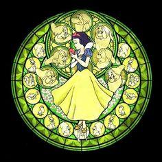 Bianco Unito cuori principessa neve in cross stitch chart. Grafico creato da foto sopra. La seconda foto è unistantanea dellimmagine grafici