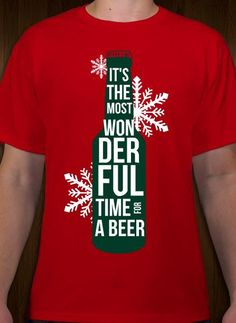 33ea9cae Christmas beer t-shirt design idea and template. Customize online with free  10-