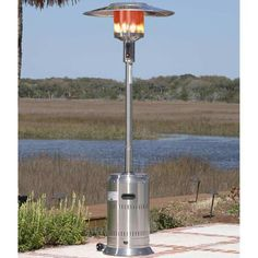 Commercial Propane Patio Heater   I'm sure dad will let me borrow it when the parties are at my house  #BrookstoneDad