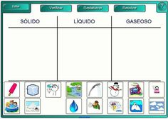 Estados del agua Chemistry Worksheets, Worksheets For Kids, Science For Kids, Science And Nature, Spanish Anchor Charts, States Of Matter, Third Grade Science, Social Science, Educational Activities