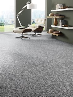 Durban tufted loop pile carpet range from Van Dyck Floors Carpet Stairs, Carpet Flooring, New Carpet, Bedroom Carpet, Vinyl Projects, Modern Bedroom, Future House, Living Room, Interior Design
