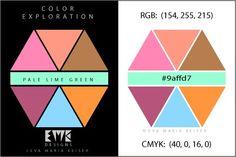 "Eva Maria Keiser Designs: Explore Color:  ""Pale Lime Green"""