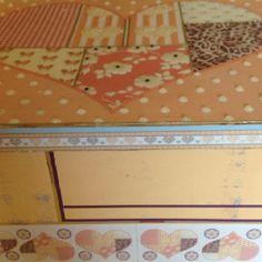 Describe tu pin...caja decorada con papeles Herminia Devoto acabado arte europeo Emilse Toledo