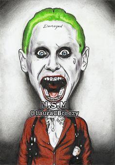 "Jared Leto ""The Joker"" #SuicideSquad"