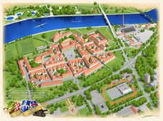 Panoramic maps, Miro Bijader on ArtStation at https://www.artstation.com/artwork/panoramic-maps