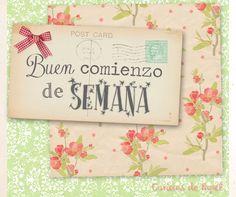 Buen #comienzo de #semana! - Caricias de Papel  #lunes