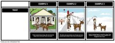 "Themes, symbols, and motifs come alive when you use a storyboard. In this activity, students will identify a theme of ""Zlateh the Goat"", and support it with evidence from the text."