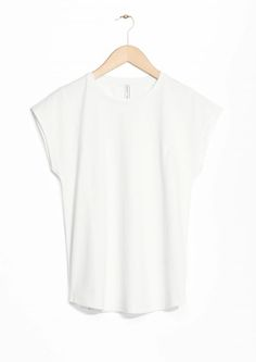 & Other Stories image 1 of Cotton T-Shirt in White
