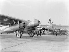 fokker f xx   Vliegtuigpersoneel bij de Fokker F.XX PH-AIZ Zilvermeeuw