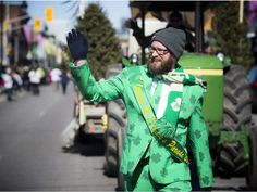 The annual St Patrick's Parade took place Saturday March making it's way down along Bank Street through the Glebe wrapping up at Lansdowne. St Patrick Parade, Ottawa, Crowd, Wrapping, March, Street, Beauty, Packaging, Walkway