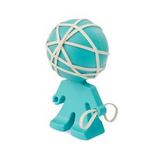 Buy Rafael Rubber Band Holder - Aqua today at IWOOT. We have great prices on gifts, homeware and gadgets with FREE delivery available. Aqua Color, Aqua Blue, Cool Office Supplies, School Supplies, Office Gadgets, Desk Toys, Hacks, Rubber Bands, Desk Accessories