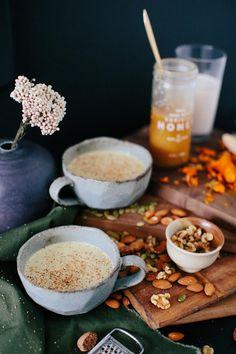 Turmeric Nutmilk Tea via A House in the Hills