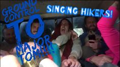Snapchat memories; Drunk singing in Bob People's Truck on the Appalachian Trail