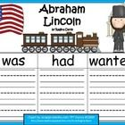 Here are 3 graphic organizers to use when writing about Abraham Lincoln.This can be used in  February for President's Day or any time that you ar...