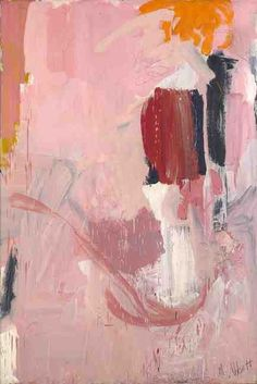 "Mary Abbott Mary Abbott ""Bill's Painting"", 1951 (USA, Abstract Expressionism, 20th cent.)"