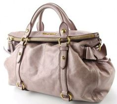 Miu Miu 2-way Shoulder Bag In Pink Vitello Lux Leather--$570