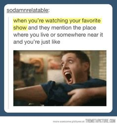 When mentioned in a show