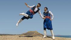 In Crete, the trademark folk dance is the Pentozali or Pentozalis (Πεντοζάλης). Crete Hotels, Greek Dancing, Greece Food, Only In America, Greek Music, Greek Culture, Folk Dance, Greece Travel, Historical Photos