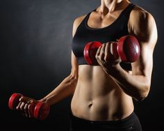Sculpting sexy arms and abs is just ONE reason to hit the weight room. Another: http://www.womenshealthmag.com/fitness/lower-blood-pressure?cm_mmc=Pinterest-_-womenshealth-_-content-fitness-_-reasontoliftweights
