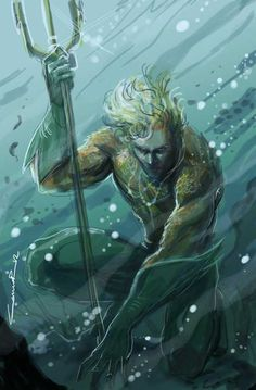 Aquaman lookin' deep sea as fuck!