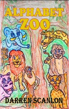 Books Alphabet Zoo by Darren Scanlon Alphabet Zoo is a wonderfully illustrated children's alphabet learning book which takes the reader on a round the world trek through the animal kingdom. Excited Animals, Books To Read, My Books, Childrens Alphabet, Book Publishing, Animal Kingdom, Cover Art, This Book, Learning