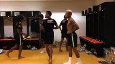 ¡Los querrás imitar! Marcelo y Neymar bailando como frikis