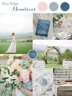 Blue Ridge Mountain Inspiration for a Romantic Asheville Wedding