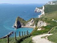 Went there the first of June, 2012.  Want to go back!  Dorset Coast, England
