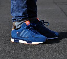 adidas Originals ZX 850 – Tribe Blue / New Navy