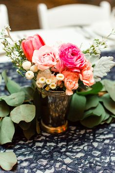 tulip wedding flowers - photo by Erin Milnik http://ruffledblog.com/colorful-ironstone-vineyards-wedding