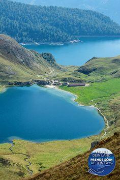 Lago Ritom, Val Piora, Ticino, Switzerland