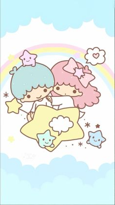 50 Ideas Wall Paper Cartoon Kawaii Little Twin Stars My Melody Wallpaper, Sanrio Wallpaper, Star Wallpaper, Hello Kitty Wallpaper, Kawaii Wallpaper, Disney Wallpaper, Cartoon Wallpaper, Iphone Wallpaper, Sanrio Characters