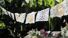 DIY lace project