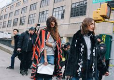 The New York Fashion Week forecast calls for sun, rain, and blizzard conditions. Vogue Runway's resident street style photographer Phil Oh will be stationed outside the top runway shows through it all. Don't miss his daily updates.