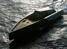 The Wallypower 118 - Only motorboat I'd ever want to own other than a classic Chriscraft runabout. THREE Vericor TF50 turbines cranking out 5600 HP each! Bit pricey. I'd better get crankin'