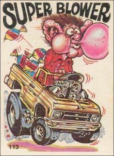 weired rods   Oddest Odd Rods 113 A, Jan 1970 Trading Card by Donruss