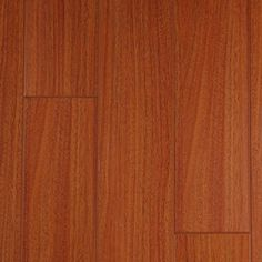 Brazilian Cherry, from the Masterpiece Collection by Artisan Floors, featuring 5-inch wide-plank slightly-textured laminate flooring in many exotic and traditional styles and colors.