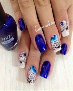Trendy Nails, Cute Nails, Hair And Nails, My Nails, Manicure E Pedicure, Elegant Nails, Hand Art, Creative Nails, Summer Nails